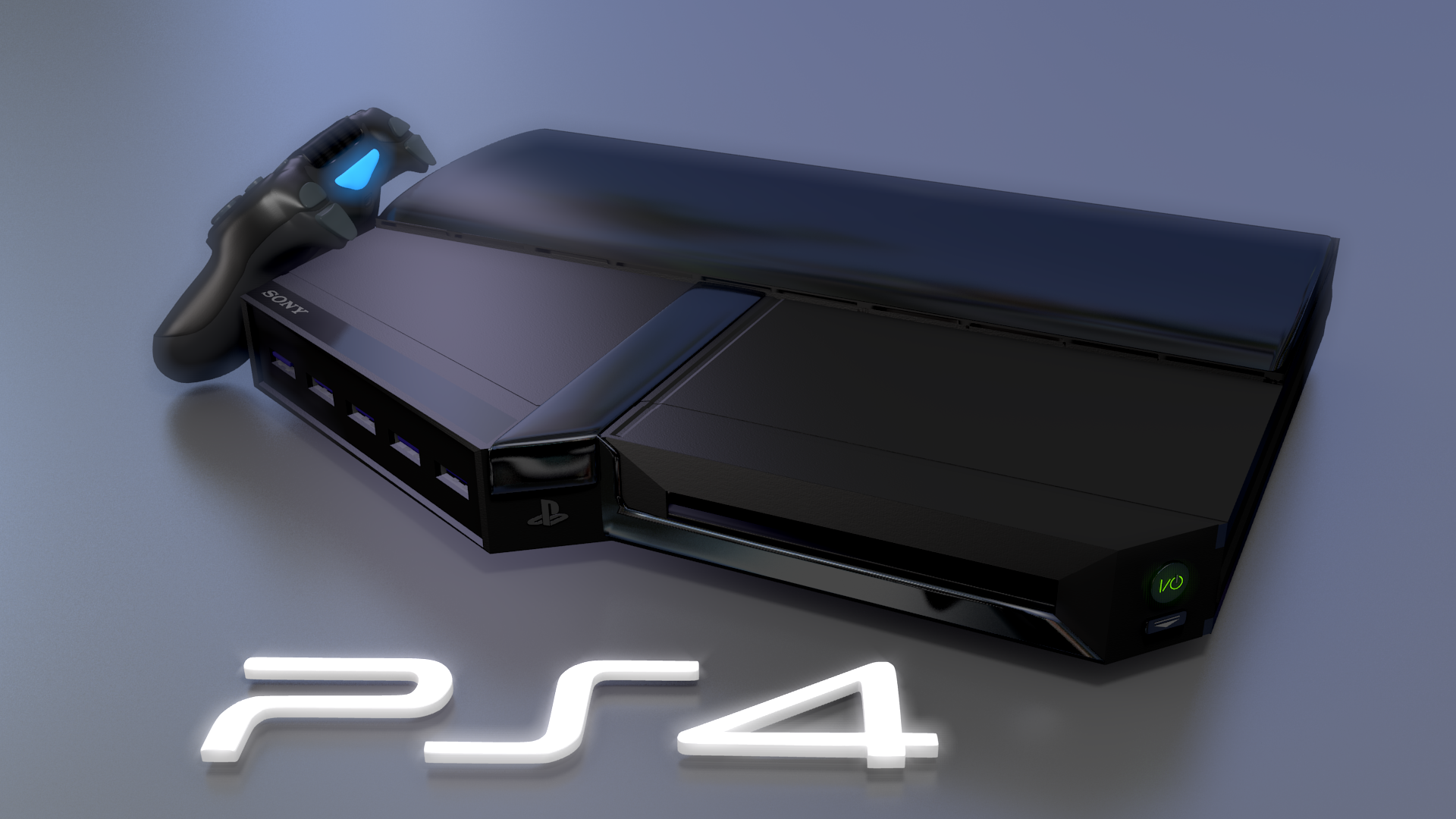 Ps Game Console Design